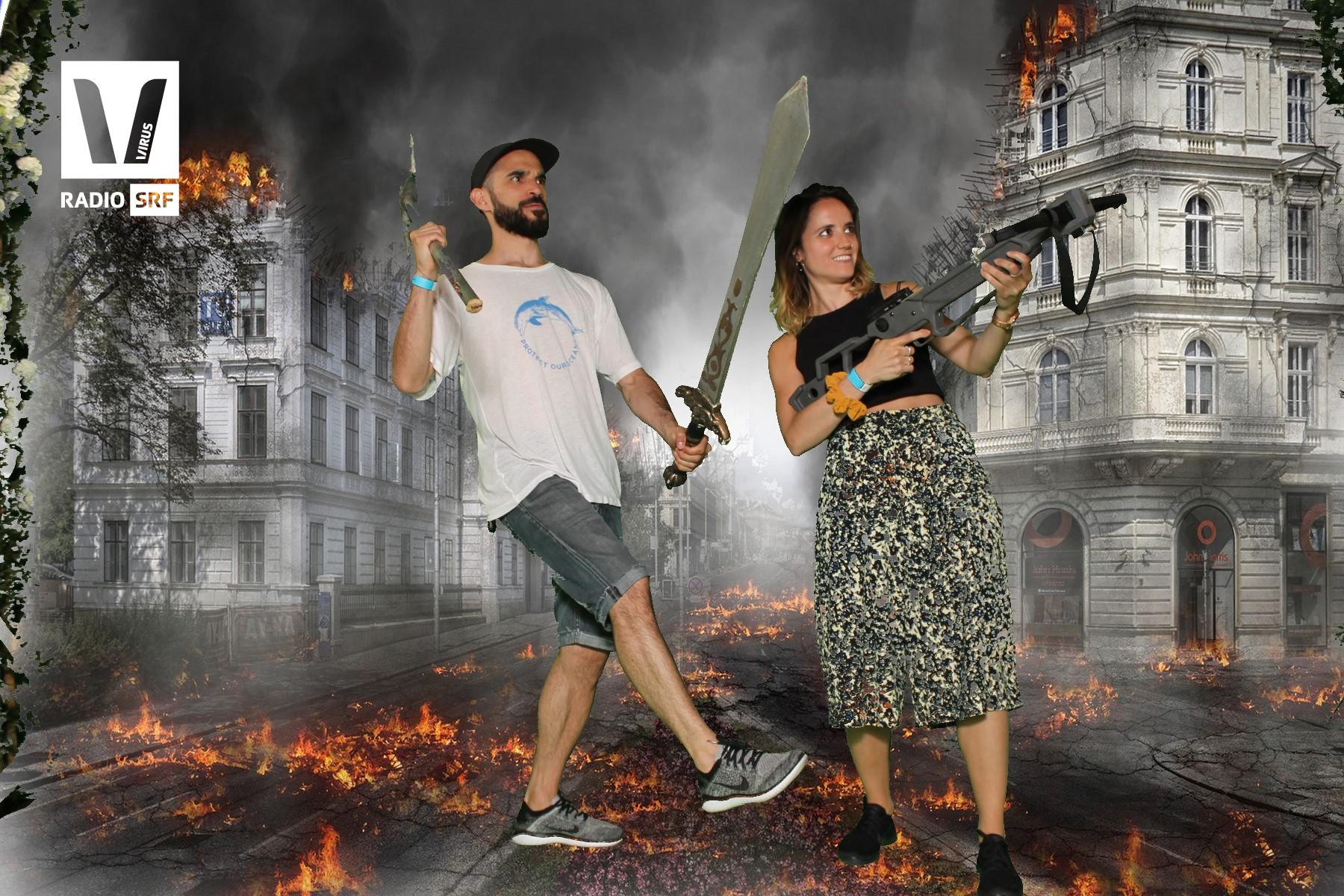 SRF Virus an der Fantasy Basel 2018